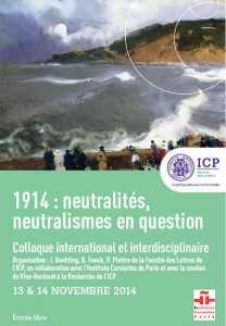 Colloque 1914
